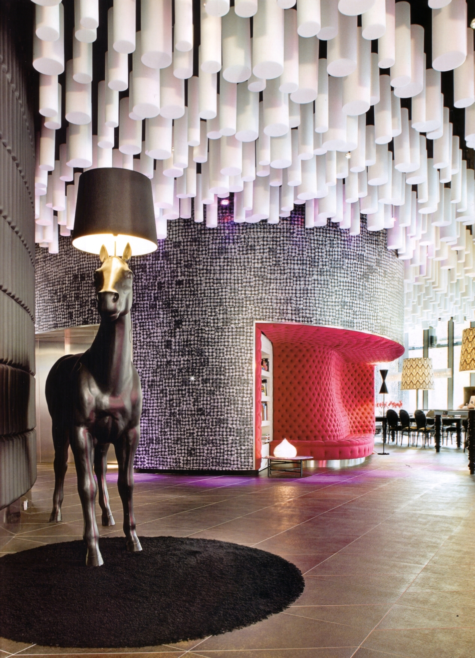 Lobby Hotel Barceló Raval, Barcelona