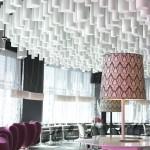 Proyecto interiores y acústica Lobby Hotel Barceló Raval, Barcelona