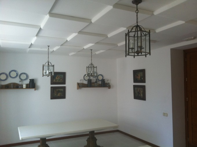 Instalación paneles acústicos Sontect Residencia, El Trapiche