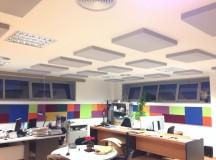 Acondicionamiento de oficinas con la innovadora espuma de resina de melamina SONTECT