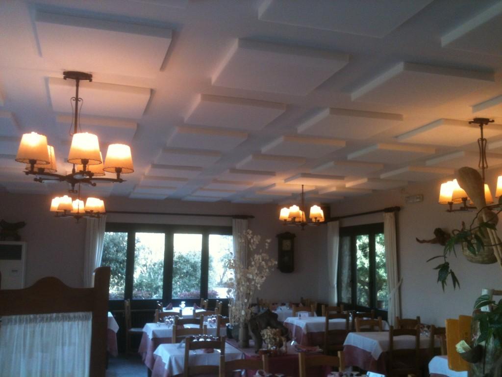 Proyecto de confort acústico en el Restaurant El Castell del Brull